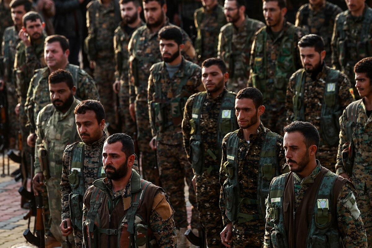 Is Turko Syrian war imminent? The offensive is at such a pace that map makers can barely cope, a map published one morning will be obsolete before sunset.