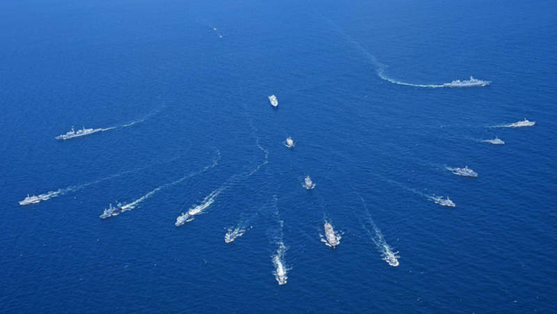 USN, Russian Navy and PLAN: A tale of three navies