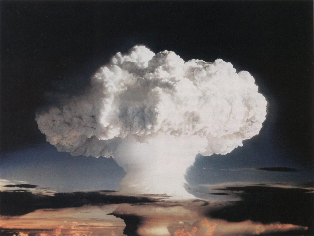"Ivy Mike Atmospheric Nuclear Test - November 1952. This ""World War 3"" is being fought without nuclear weapons, Syrian Crisis is a mess."