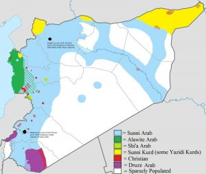 The Complete Guide About ISIS and Russians in Syria. Russians in Syria have caught the eyes of Western powers. Here's the map of Syria.