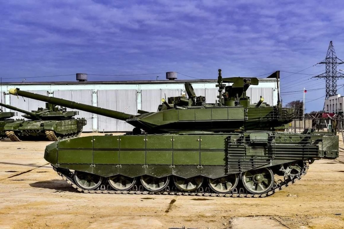 T-90M delivered to 1st Guards Tank Army