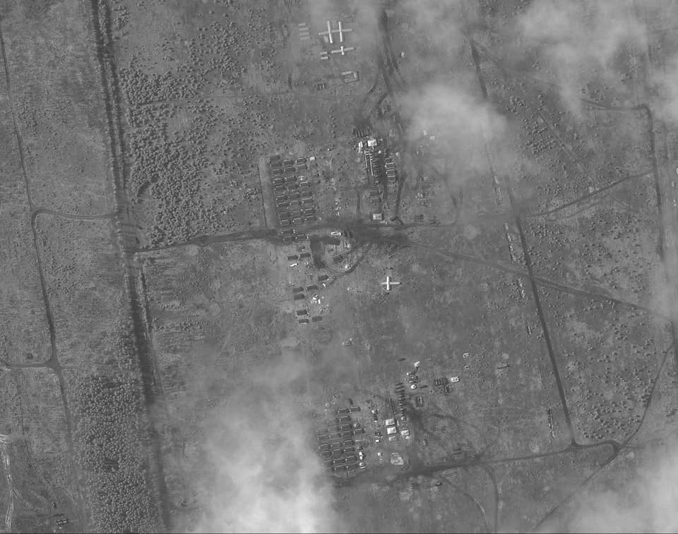 Russia's military build-up along its Western border